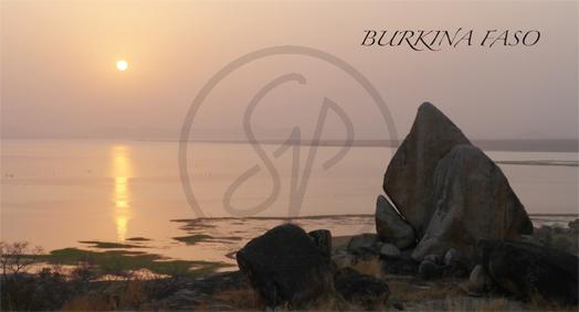 Carte postale du Burkina Faso, Kompienga